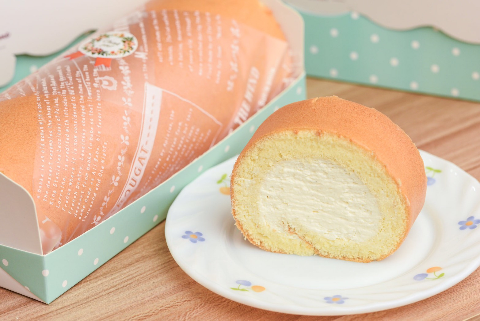 瑞士鮮奶油生乳蛋糕捲