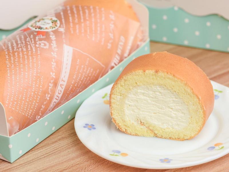 原味瑞士奶油蛋糕捲