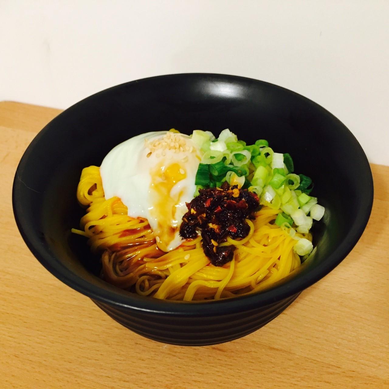 紅薑黃麵線&溫泉蛋
