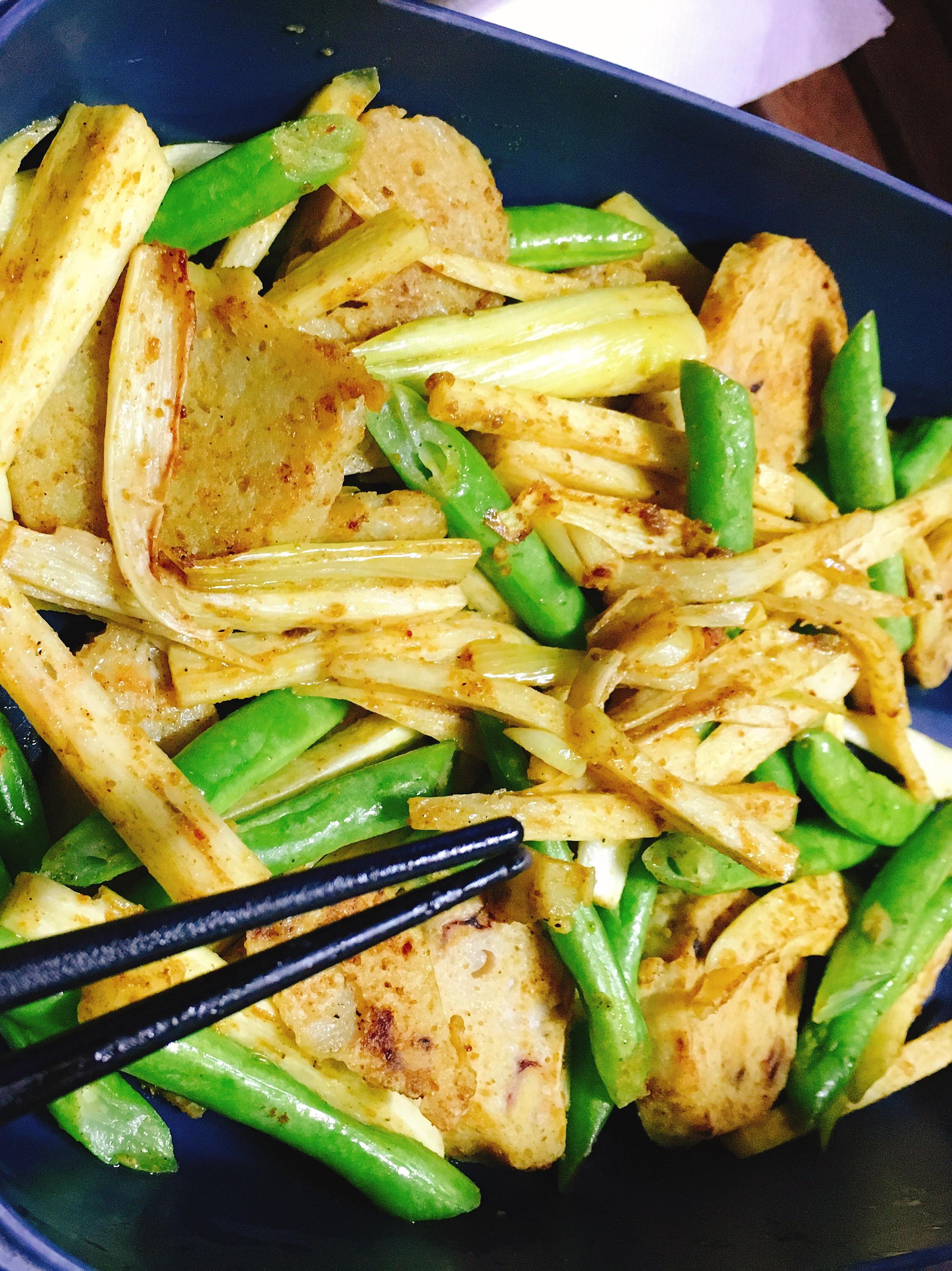 低卡料理🛎孜然咖哩炒時蔬