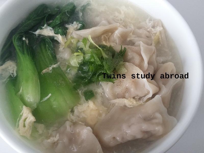 鮮肉餛飩湯