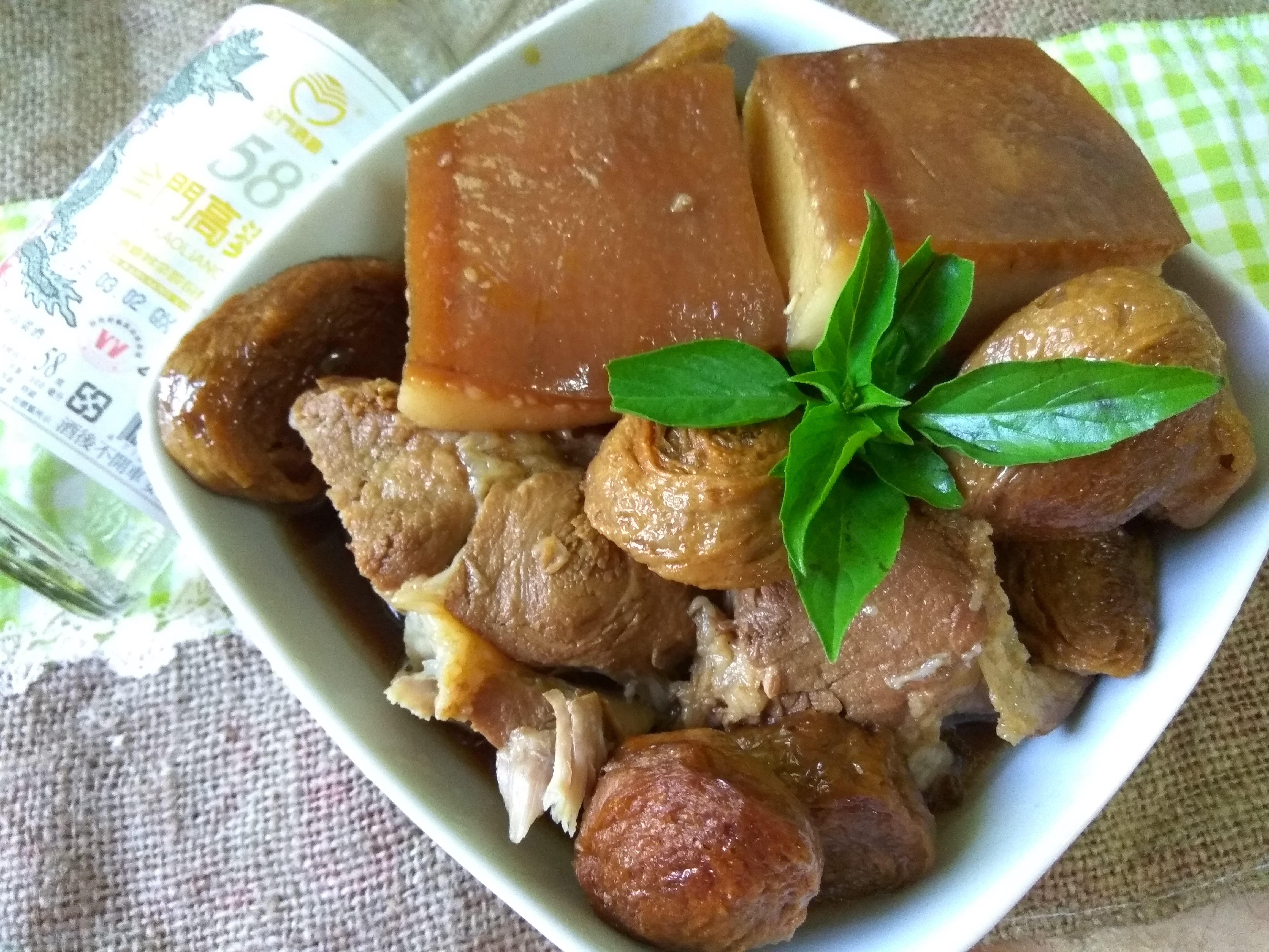 燜燒鍋料理-酒香燜豐肉-58度金門高粱酒