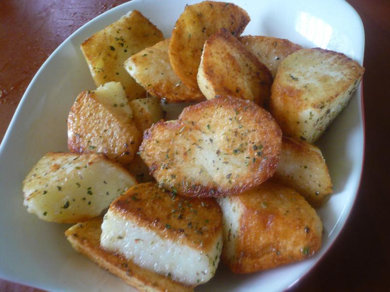 10分鐘小零嘴點心─香草煎馬鈴薯