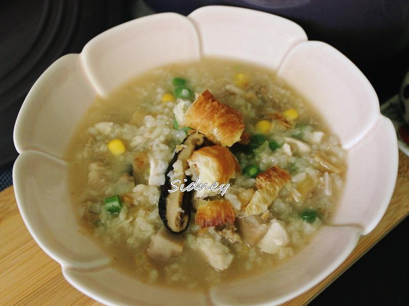 台式綜合鹹粥