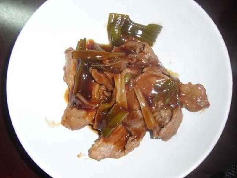 水媽咪料理-蔥燒排骨