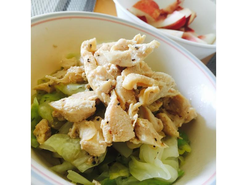 微波爐料理 高麗菜雞肉