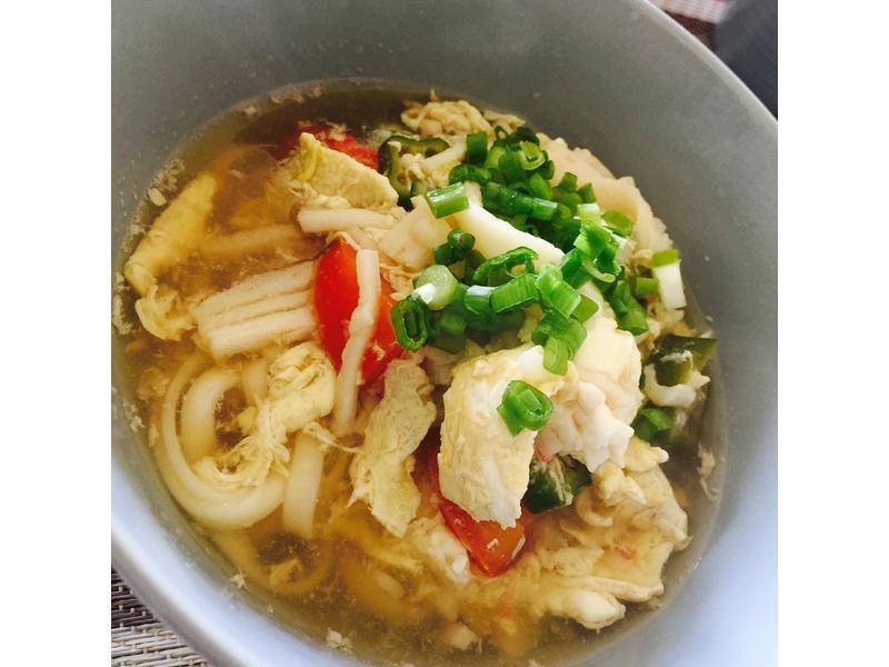 海鮮湯烏龍麵