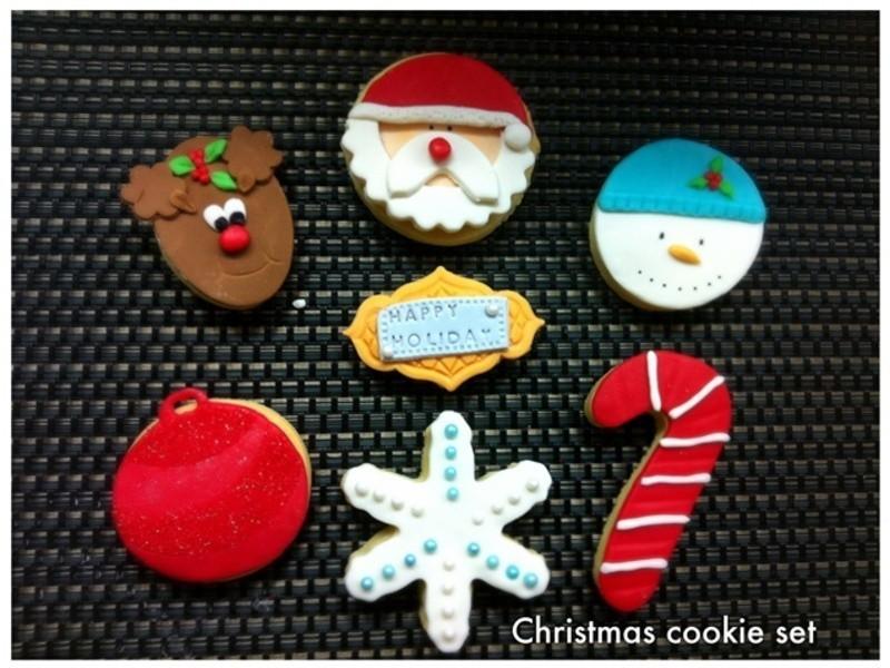 創意聖誕節造型餅乾