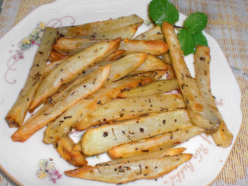 香草烤薯條