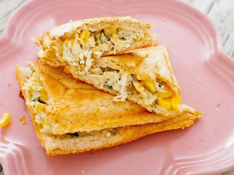 手撕雞胸飛碟三明治