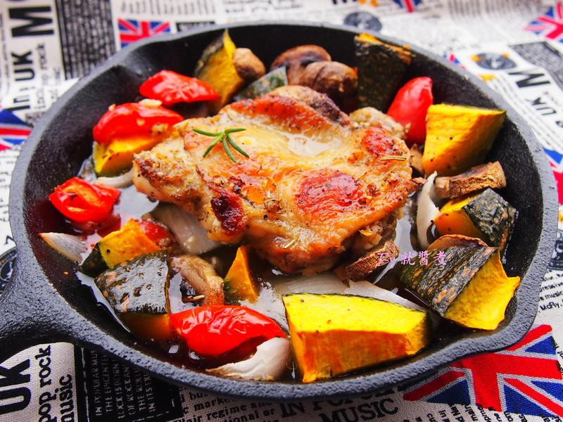 法式香草烤雞腿排