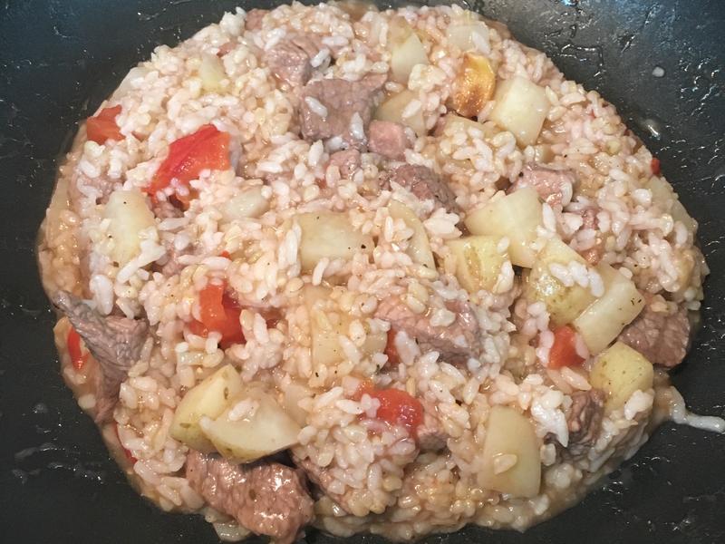 超簡單紅酒豬肉燉飯