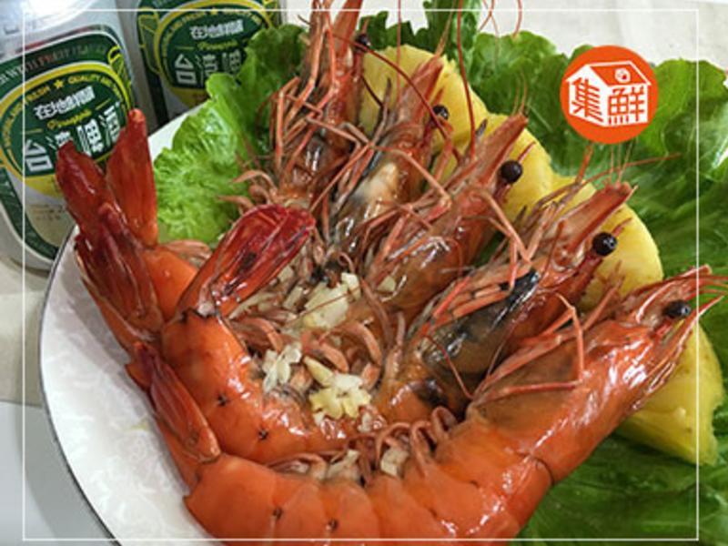 【集鮮屋】鳳梨啤酒戰鬥蝦