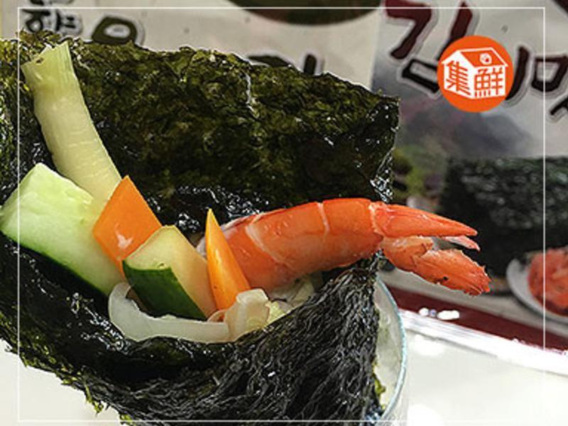 【集鮮屋】人蔘戰鬥蝦手卷