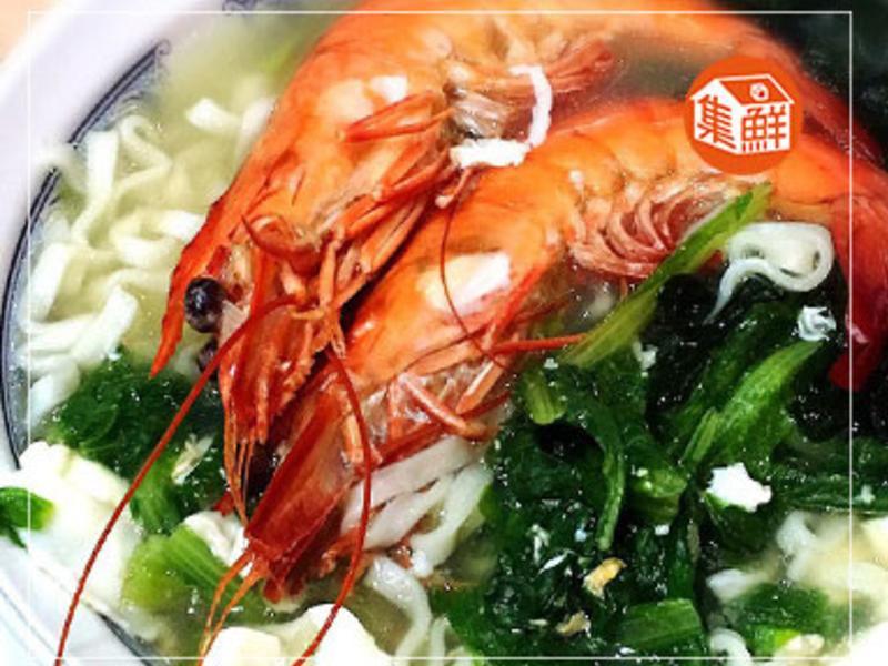 【集鮮屋】海鮮戰鬥蝦拉麵