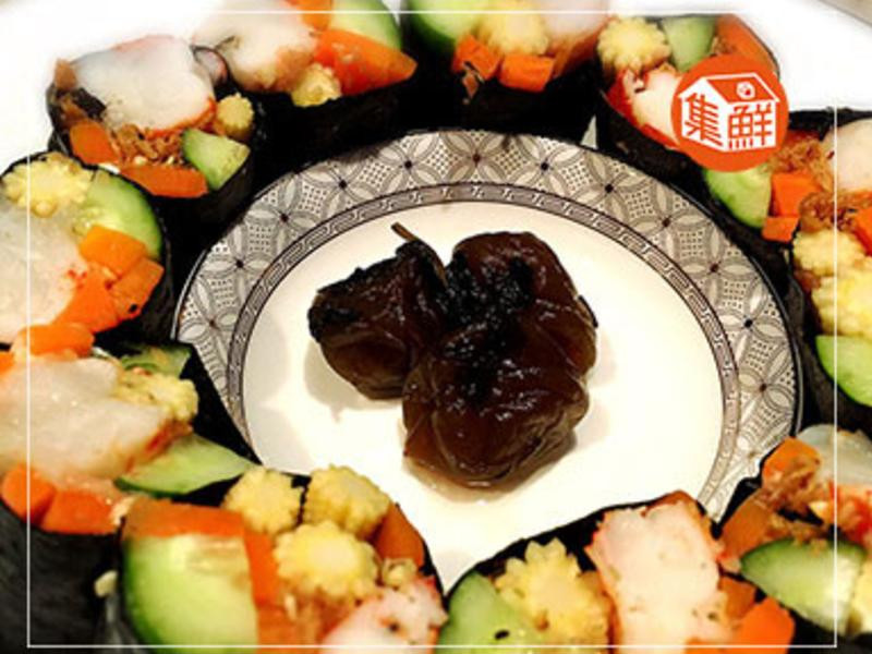 【集鮮屋】四色戰鬥蝦壽司