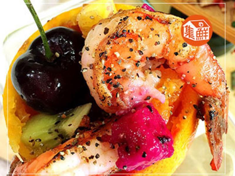 【集鮮屋】戰鬥蝦水果盒