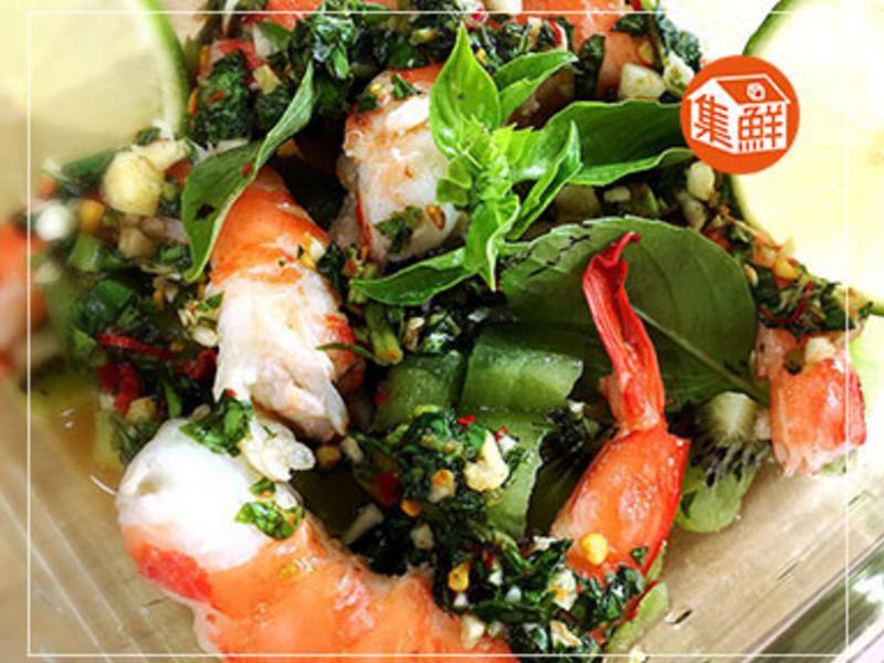 【集鮮屋】泰式酸辣水果戰鬥蝦