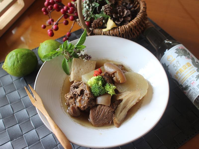 酒香醬羊肉-58度金門高粱酒