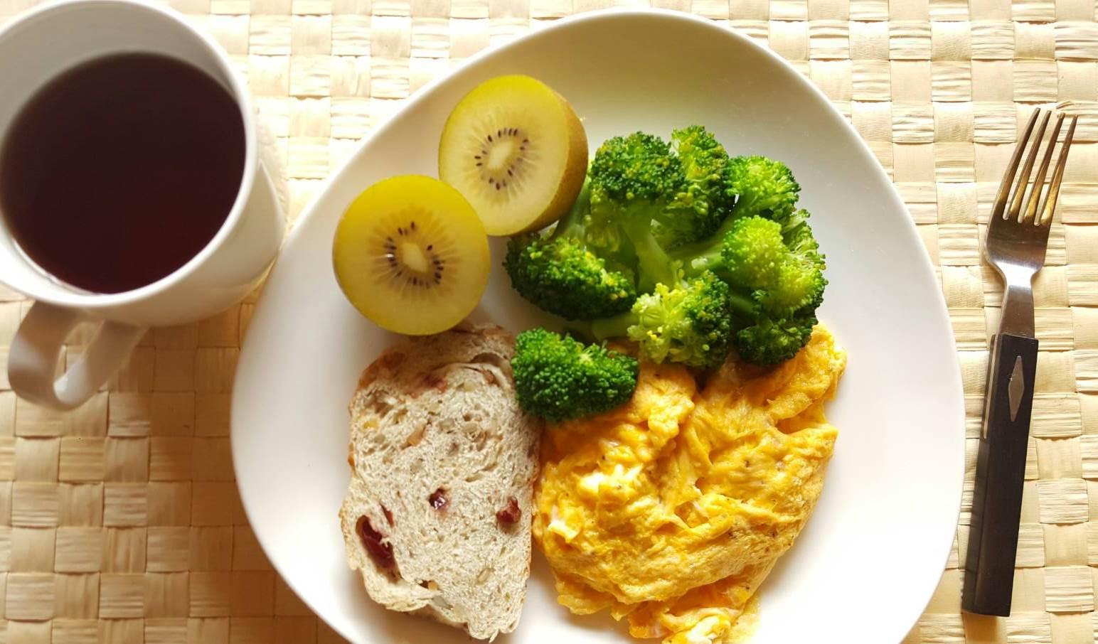 蓬鬆黃金早餐蛋