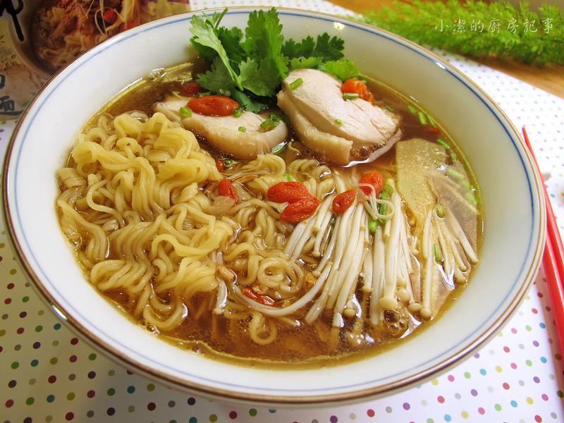 當歸藥膳雞肉湯麵
