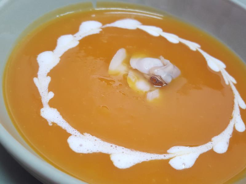 蛤蜊南瓜濃湯