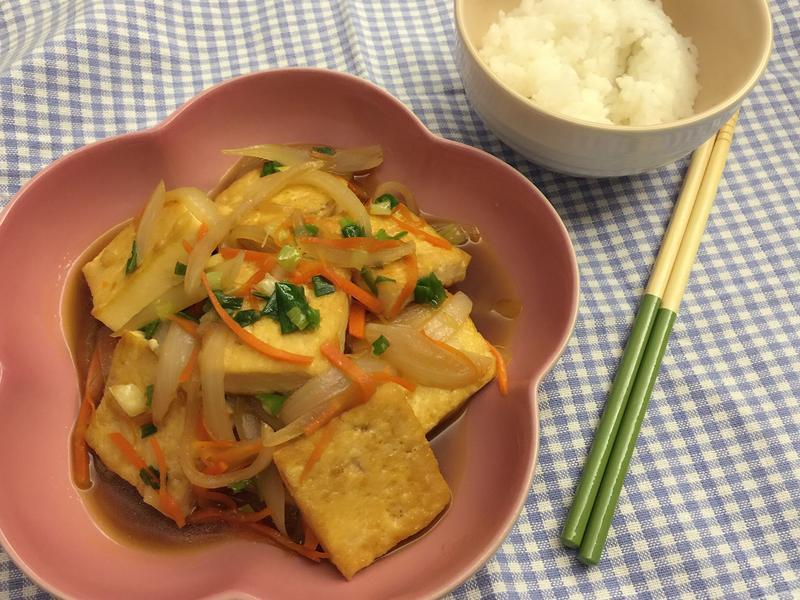 洋蔥燒豆腐