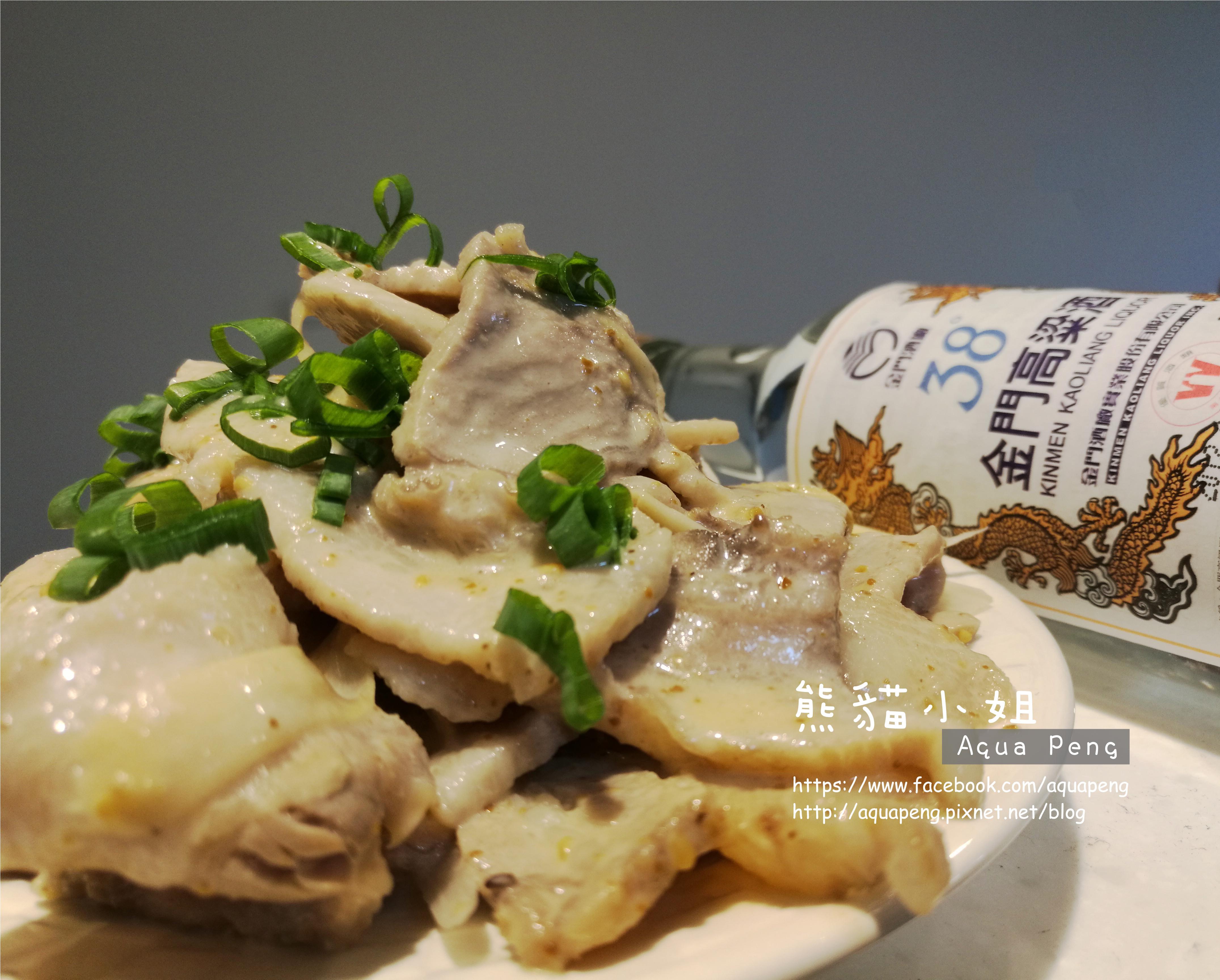 酒香胡麻燒肉_38度金門高粱酒