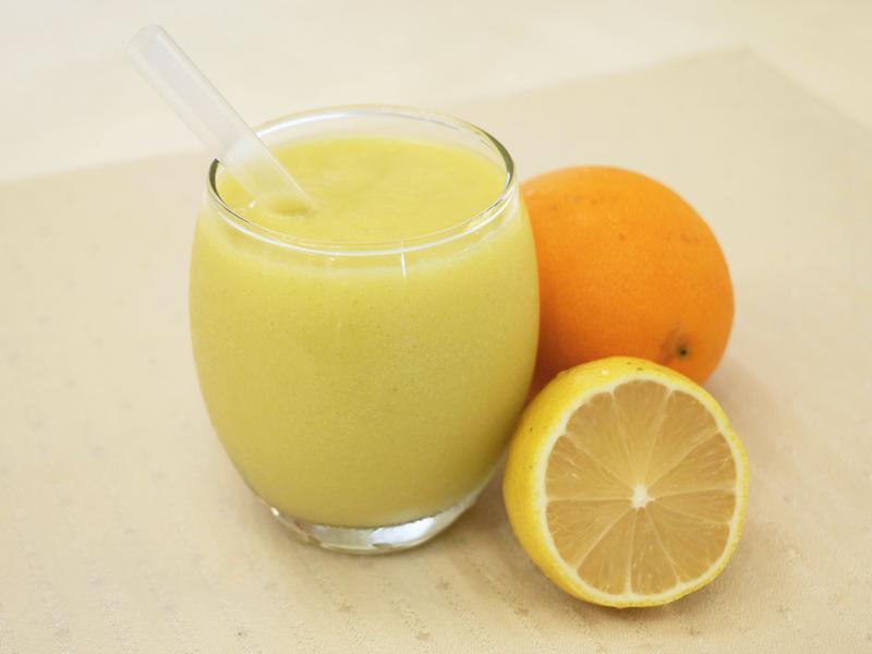 柳橙芭樂汁