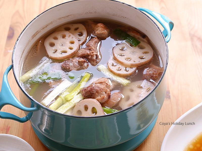 阿基師【蓮藕排骨湯】鮮甜湯頭喝一口難忘懷