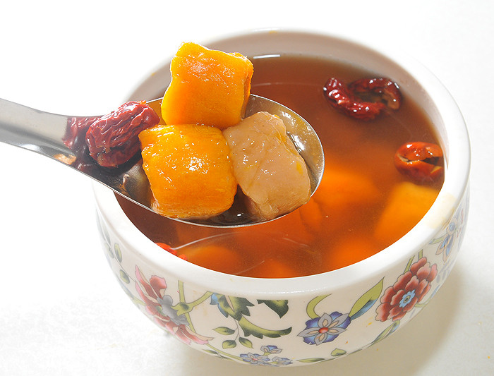 糖蜜紅棗芋圓蕃薯圓湯