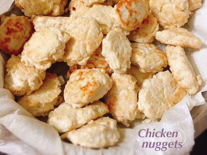 健康雞塊~低脂 低卡 蛋白質超豐富!