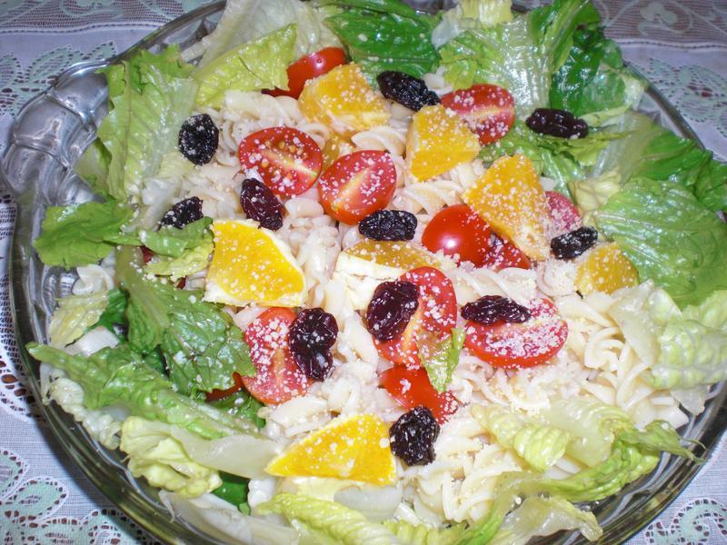 水果義大利麵沙拉