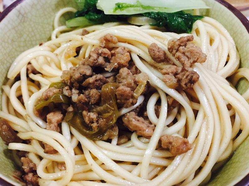 傳統肉燥乾麵