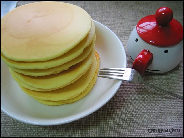 早餐:不是老虎奶油的香甜無國界鬆餅