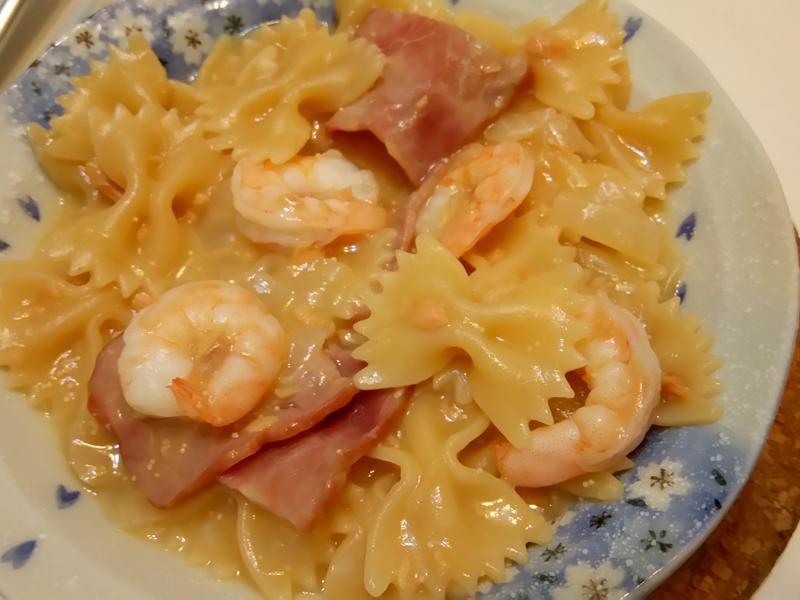 [一鍋到底]白醬海鮮義大利麵