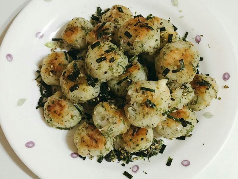日式烤小飯糰