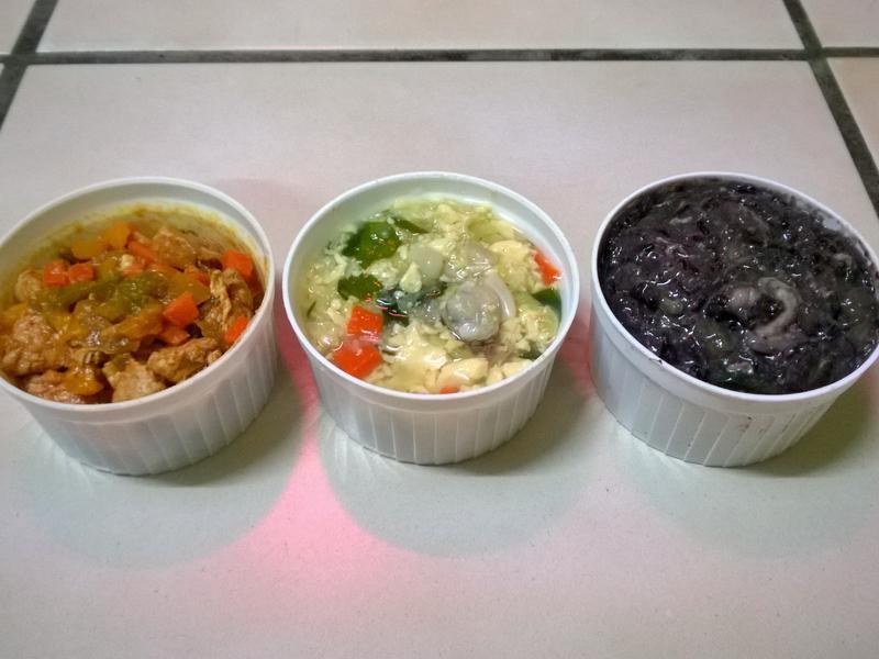 鮮食🐾糖醋里肌 豆腐蛤蜊湯 紫米菜粥