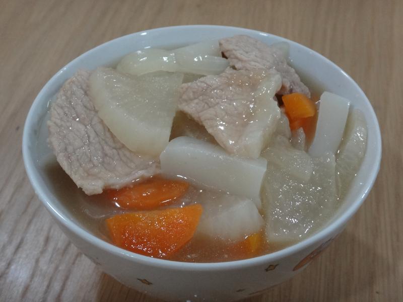豬肉味增湯