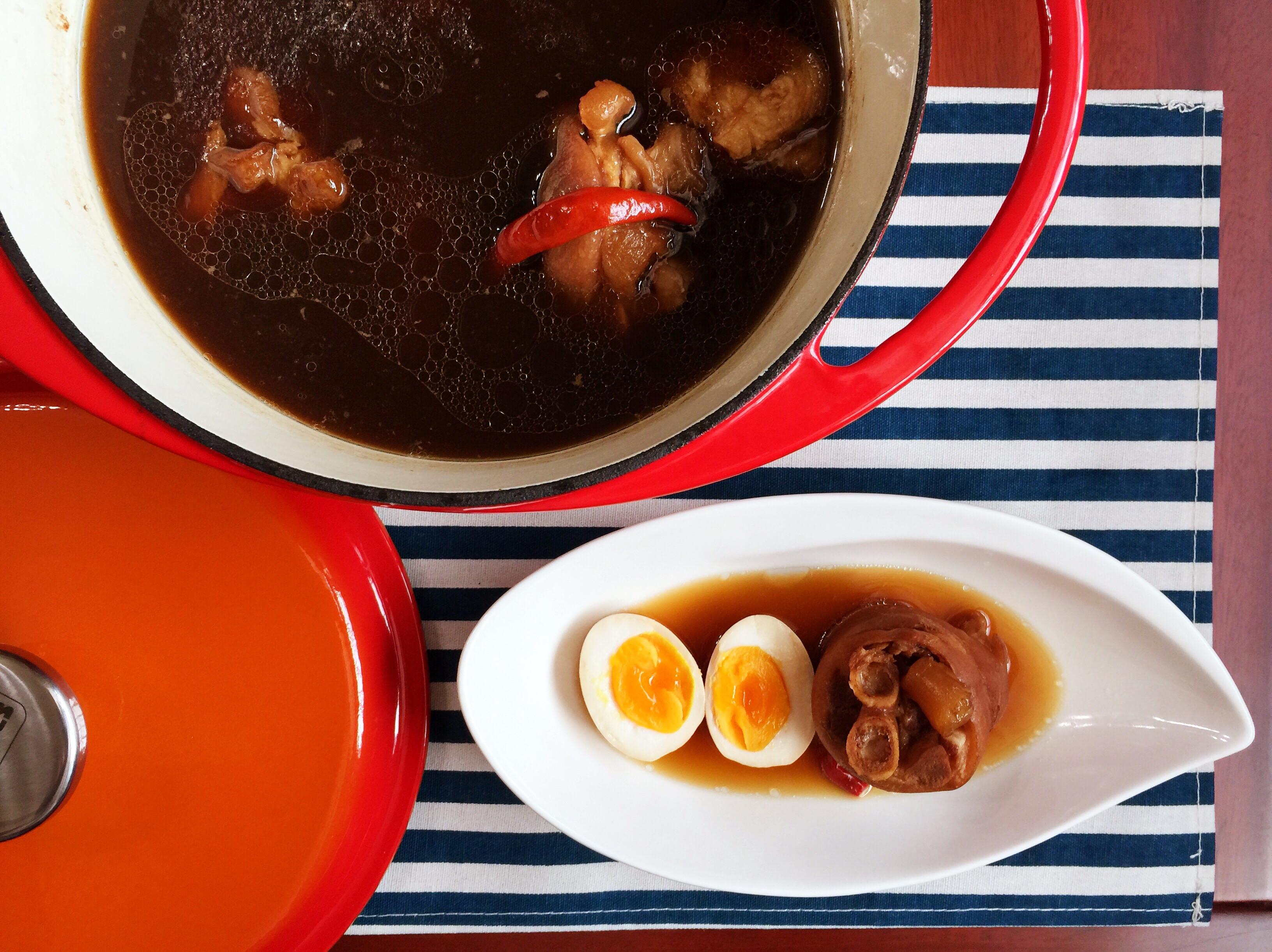無難度媽媽味 鑄鐵鍋滷豬腳&溏心蛋