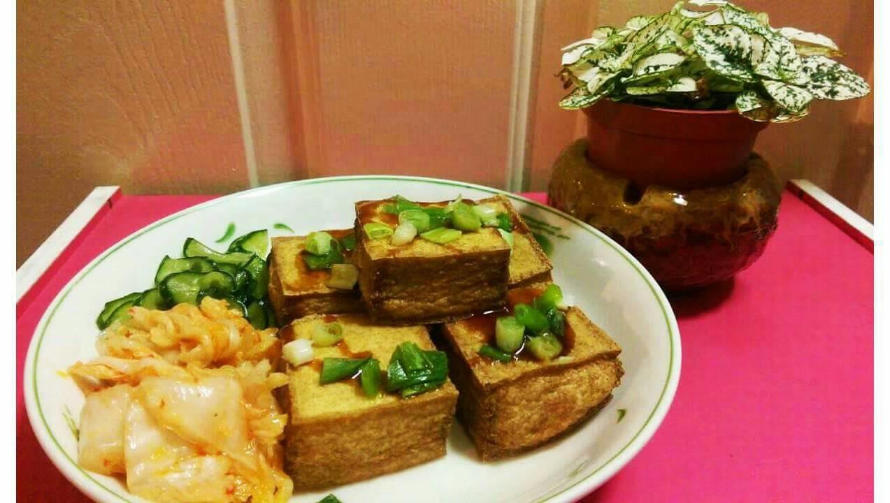 香酥黃金豆腐