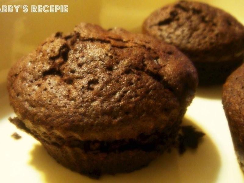 雙巧克力岩漿布朗尼 (Lie 兔 Food )