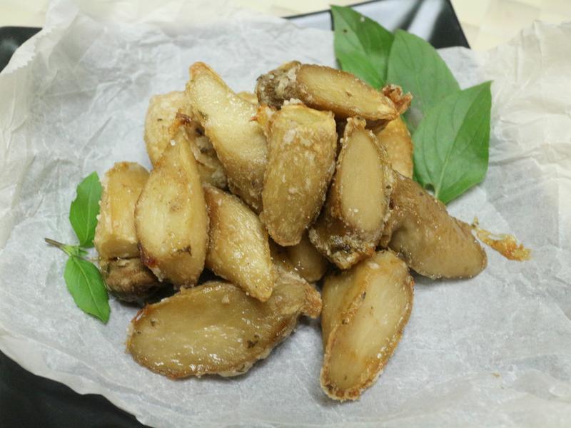 香烤椒鹽杏鮑菇
