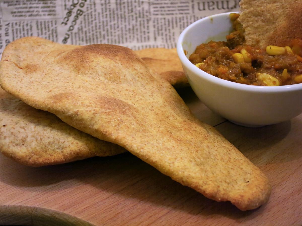 全麥印度烤餅(Naan bread)