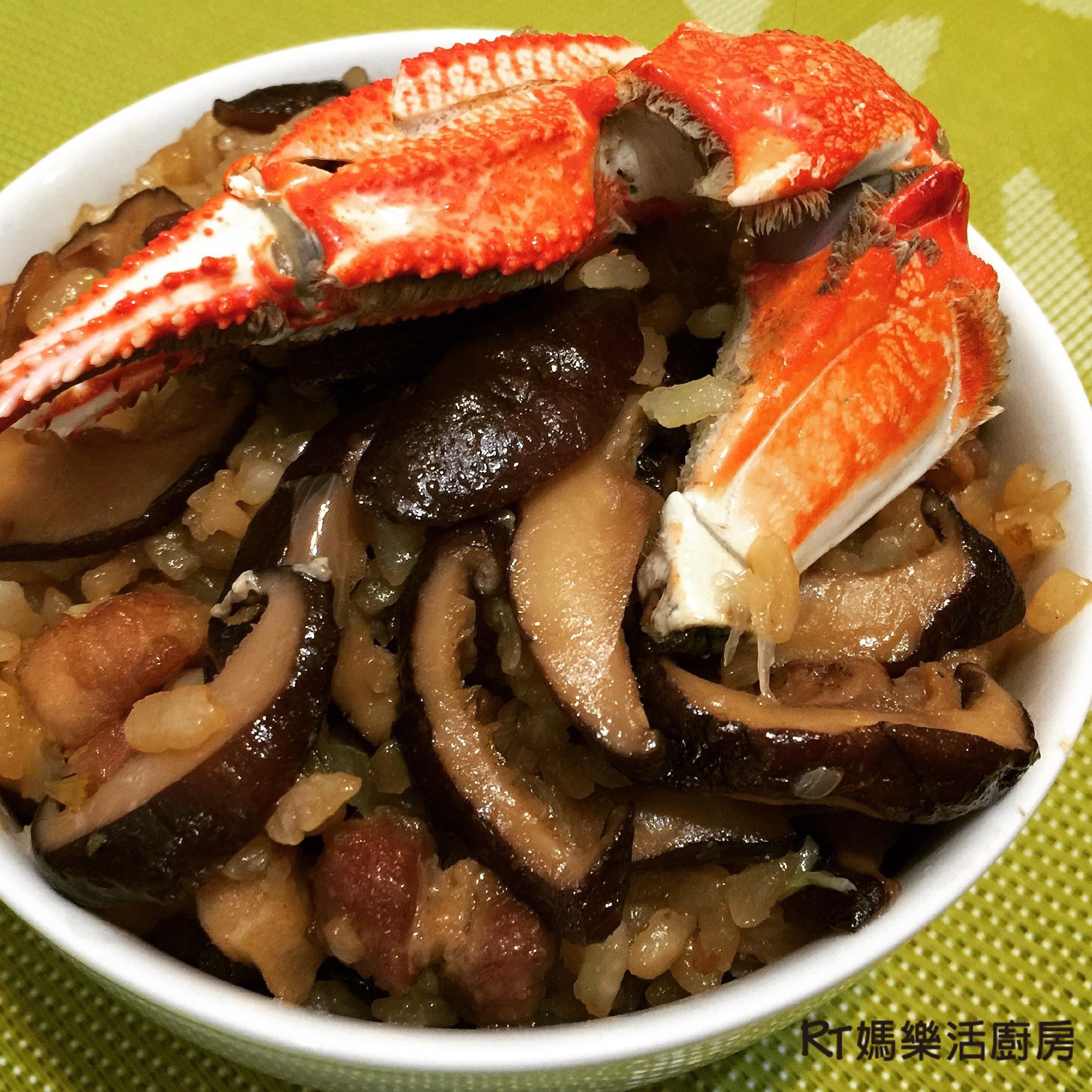 電鍋做的白米香菇油飯~ @RT媽樂活廚房