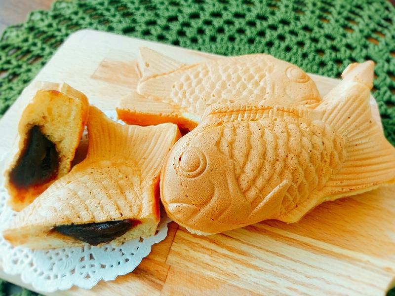 簡易版紅豆魚型燒