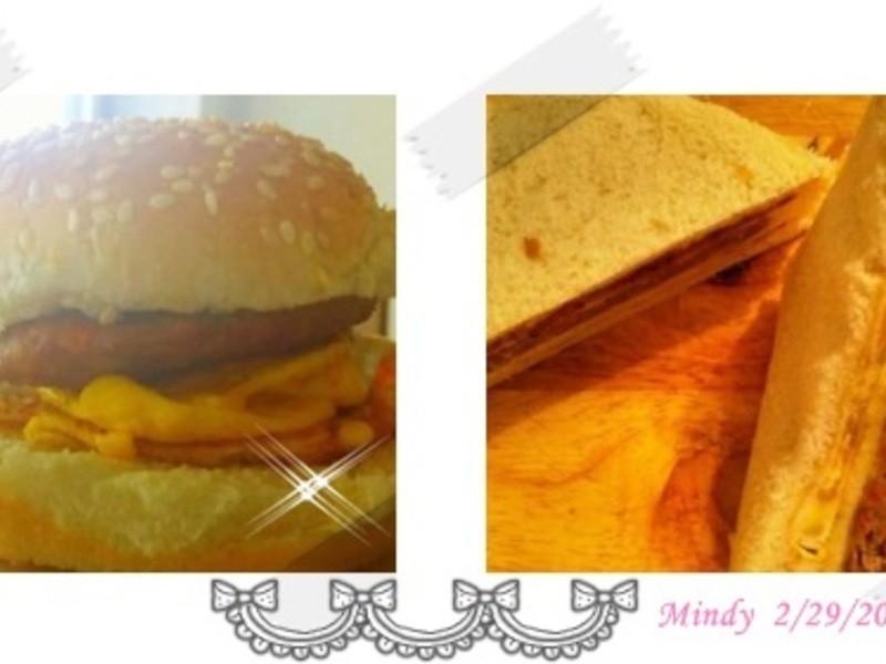自製早餐店漢堡肉
