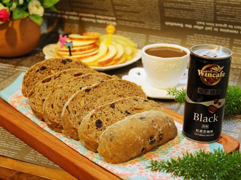 蔓莓纖果咖啡麵包【黑松】