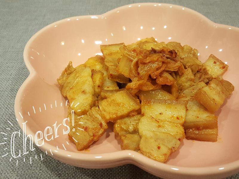 燒烤泡菜豬五花 #大同無水鍋