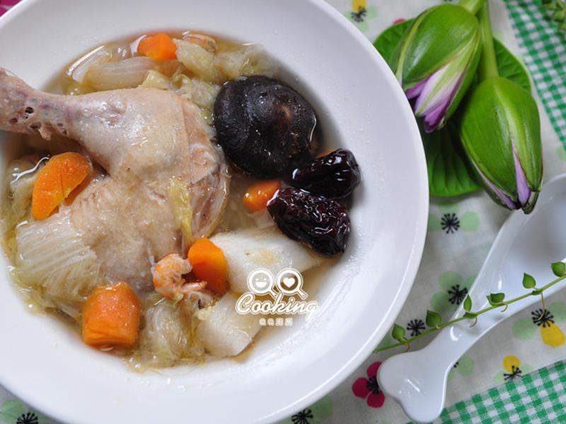 白菜山藥燉雞湯【頂好超市】